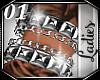 *01* Silver Bracelets L