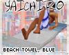 Beach Towel, Blue
