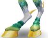 M* White Cervid Legs F