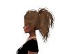 brunette ponytail