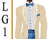 LG1 Cream & Blue Tux