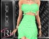 Mimi green dress