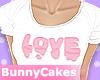 Pink Love [crop top]