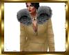 Ivory Hoody Fur