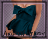 [A] Blue Bow Top