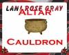 LRG  ALTAR FIRE CAULDRON