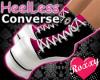 HeelLess Converse (Pink)