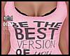 Be the Best Pinke