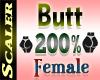 Butt / Hip Resizer 200%