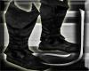 (J) Black Hood Boots