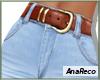 ABlue Jeans+Belt XL