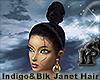 Indigo&Black Janet Hair