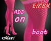 EMBX PINK BOOT ADD BIMBO