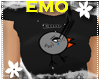 *S* Emo Chick Black