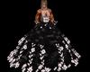 robe bal black fleur 2