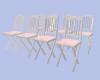 [B]Opal Pink Group Chair
