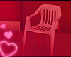 ♥ plastic chair