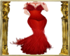 Crimson Angel Gown