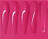 I│Shiny Nails Hot Pink
