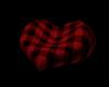 Red Heart Bean Bag