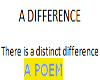 A Difference (a poem)