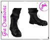 Mens Black Boots Gia