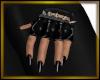 Spiked Black Gloves