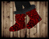 LaceRed/BlkFuzzyBoots