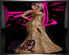 DQ Gold Event Gown
