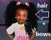 Kids Sis Ponytails + bow