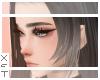 ✘ Katis bangs blk&grey