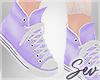 *S Pastel Converse Shoes