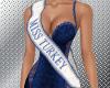 Miss Turkey sash