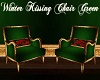Winter Kissing Chair Gre