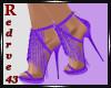 Bowie Purple Heels