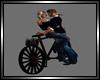 Wooden Deco Bike w/kiss