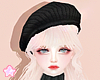 🌟 Knit Beret|Bk
