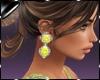 Earring Fani Yellow