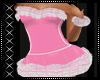 Pink/White Neko Dress