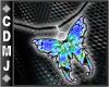 CDMJ BlueNeonButterfly