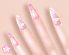 🌟 Flower Nail|Pink