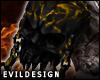 ! Evil Cursed Skull R IV