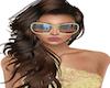 |AD|Gold Diva Sunglasses
