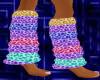 ! DJ Rave leg sock (pur)