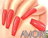 Amore Cherry Babe Nails