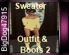 [BD]Sweater&Boots2