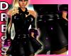 Black Pink Party Dress