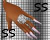 ~SS~PINK LV NAILS