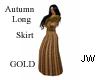 JW Autumn Long Skrt gold