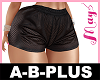 A-B-PLUS Bimbo Short2 Bk